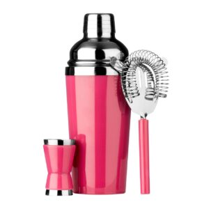 pink cocktail set